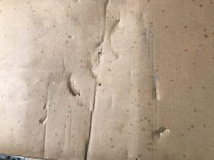 元箱 古い 傷 穴 1