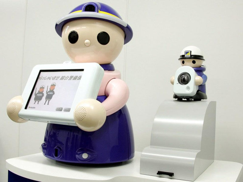 受付ロボット