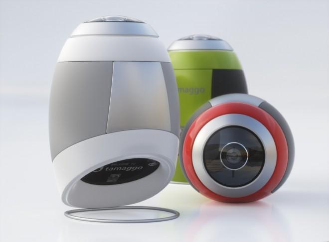 卵型ロボット