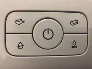 掃除ロボット ボタン