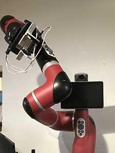 協働ロボット 伸縮 動作