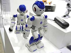 展示ロボット 反応なくなる