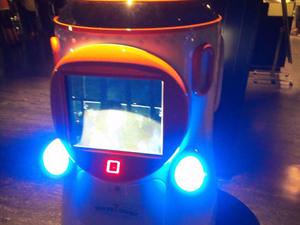 ガイドロボット 電源