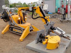 建設ロボット