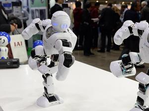 展示ロボット 動き