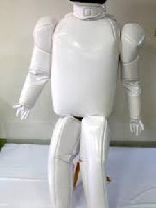着ぐるみロボット 皺 ヘタレ