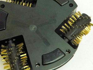 グリル掃除ロボット ワイヤーブラシ
