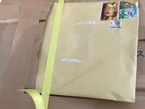 必要書類 別封筒 紛失の可能性