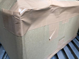 到着 箱が潰れていた 事例